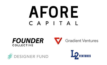 Investors of Flatfile. Afore Capital, Founder Collective, Gradient Ventures, DesignerFund, and Liquid2 Ventures.